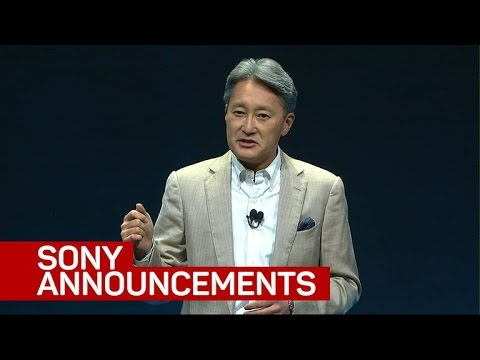 Highlights from Sony's CES 2017 press conference