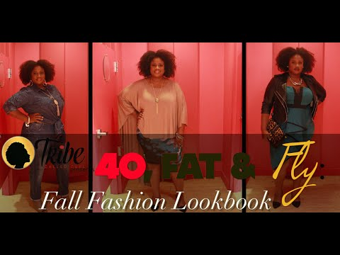 Plus Size Fall Lookbook & Makeover Contest I 40, Fat & Fly I Tribe Called Curl