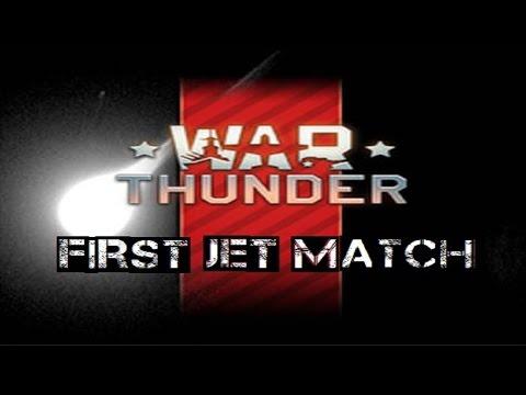 War Thunder: 1st Jet Match