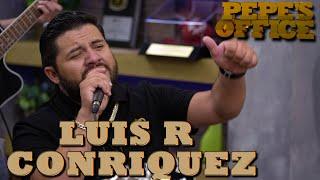 Llega a USA Luis R Conriquez - Pepe's Office