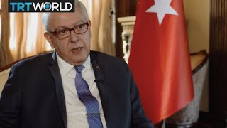 Cover images Exclusive: TRT World speaks to Turkish Ambassador to the US