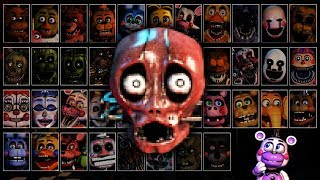 Browse All Jumpscares & Voices in UCN Simulator