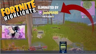karma! NINJA GETS COCKY AND LOSES GAME / FORTNITE BATTLE ROYALE HIGHLIGHTS - FUNNY MOMENTS