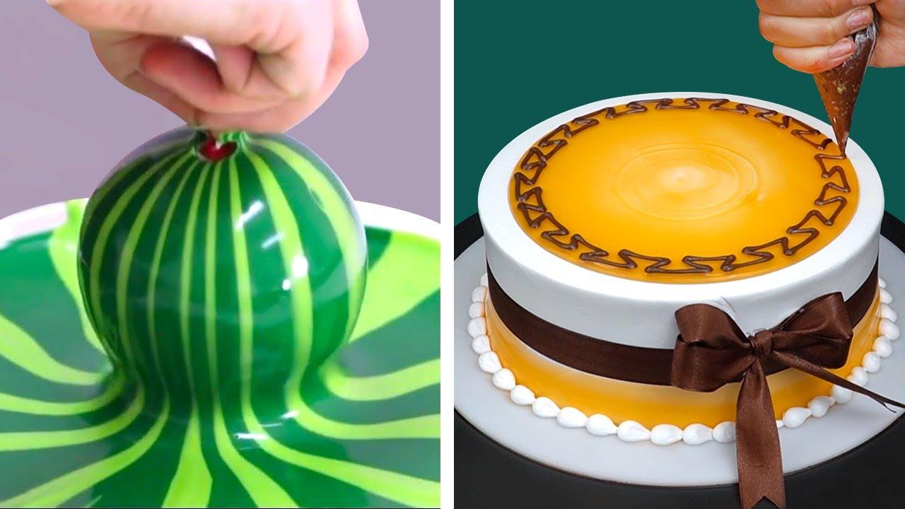 Most Satisfying Cake Decorating Tutorials | Easy & Quick Cake Decorating Ideas Compilation
