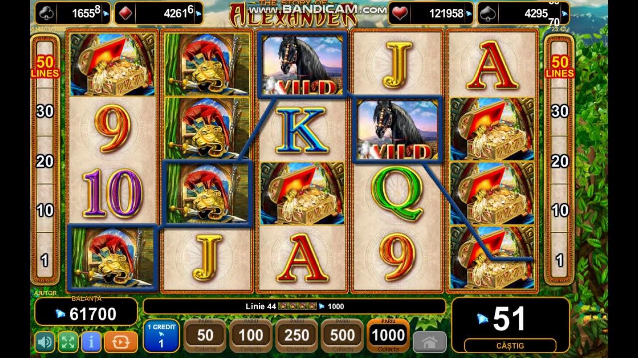 The Story Of Alexander Slot Machine