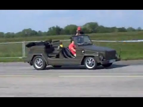 Kübelwagen with Porsche engine - VW Attack