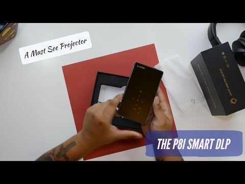 Awesome P8I Smart Mini DLP Projector - Best Under $200