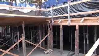 High Rise Apartment building - Concrete Slab & Formwork at Basement