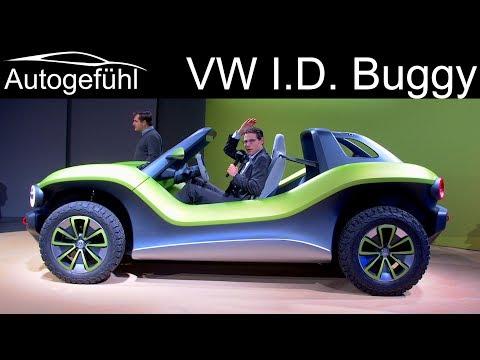 VW I.D. Buggy - EV on MEB platform REVIEW - Autogefühl