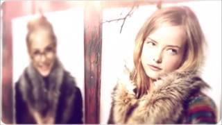 видео меховой шарф-хомут
