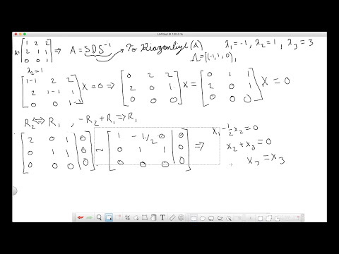 Diagonalize Matrix - How to find SDS^(-1) decomposition