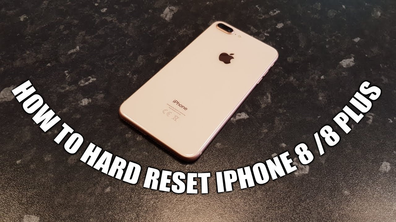 how to do hard reset on iphone how to reset iphone 8 8plus 9426