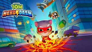 NEW TALKING TOM HERO DASH GAMEPLAY #1 - SUPER TOM