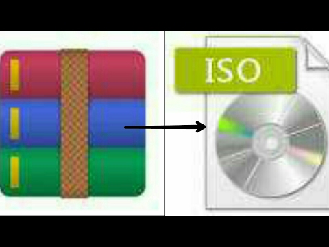 Convert Any RAR/ZIP File To ISO (PSP)