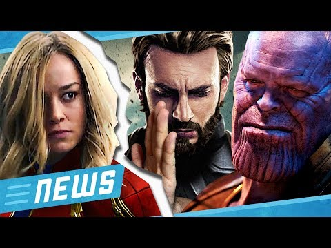 Avengers Endgame: Version ohne Captain Marvel geplant? & Rian Johnson Star Wars kommt? - FLIPPS News
