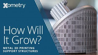 Metal 3D Printing Support Structures: How Will It Grow? Part 1