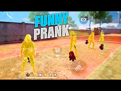 Funny Prank With Randoms In Clash Squad Ranked | Most Funny Gameplay But OP Headshots - P.K. GAMERS