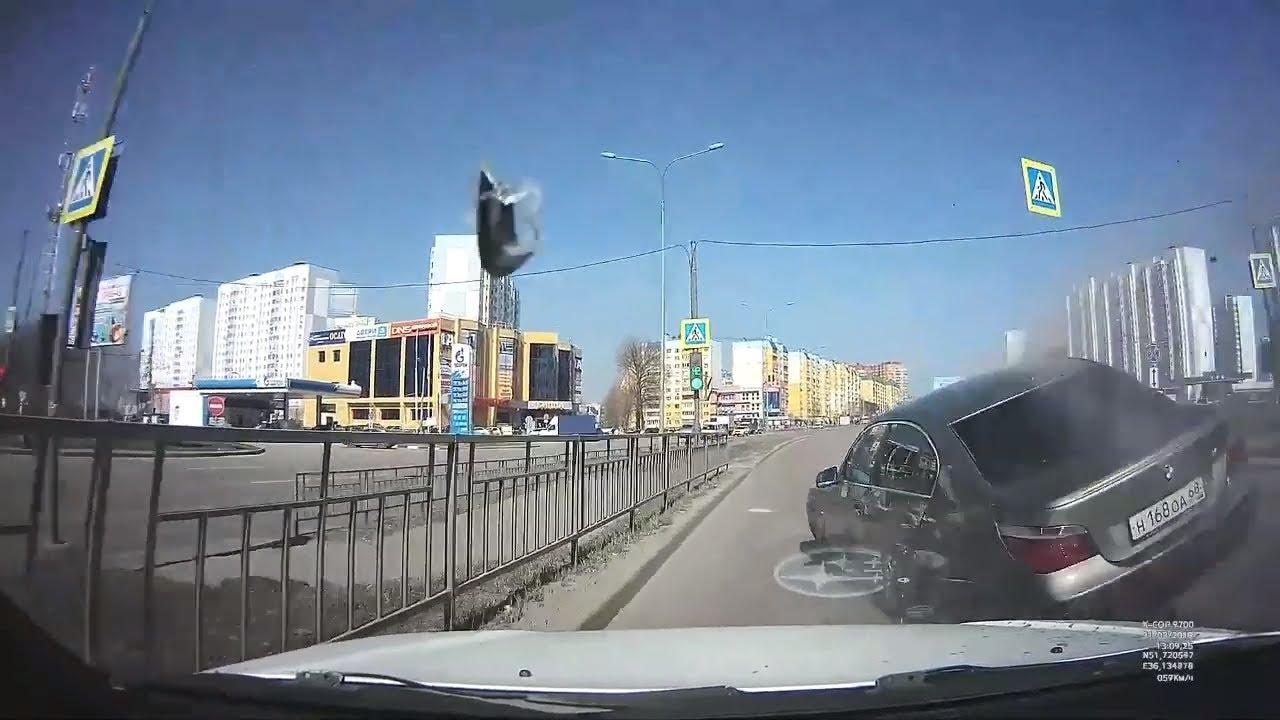 Аварии.Подборка на видеорегистратор №1 за Апрель 2019 года