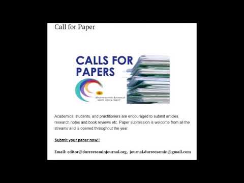 Durreesamin (ISSN: 2204-9827) is an Australian peer-reviewed quarterly multi-disciplinary journal
