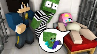 Monster School : FUNNY PRISON ESCAPE NEW EPISODE CHALLENGE - Minecraft Animation