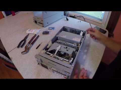 Cleaning Sony DSR-25 DSR-45 miniDV video head manually HOWTO