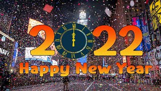 NEW YEAR COUNTDOWN 2022   HAPPY NEW YEAR 2022   COUNTDOWN TIMER 2022 + MUSIC, VOICE AND FIREWORKS 4K screenshot 4