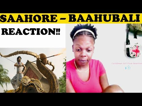 Saahore Baahubali Full Video Song | REQUESTED REACTION !!WITH (ENGLSH LYRICS)
