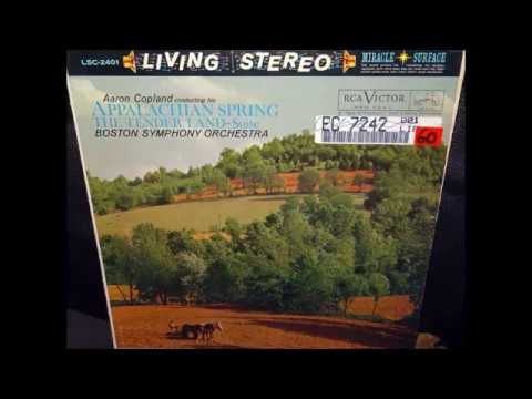 Aaron Copland - Appalachian spring (Original Vinyl 1960) Good sound...