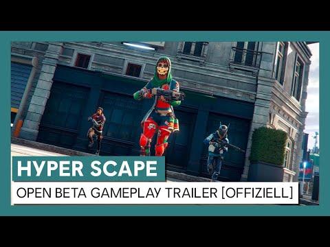 HYPER SCAPE - Open Beta Gameplay Trailer [OFFIZIELL] | Ubisoft [DE]