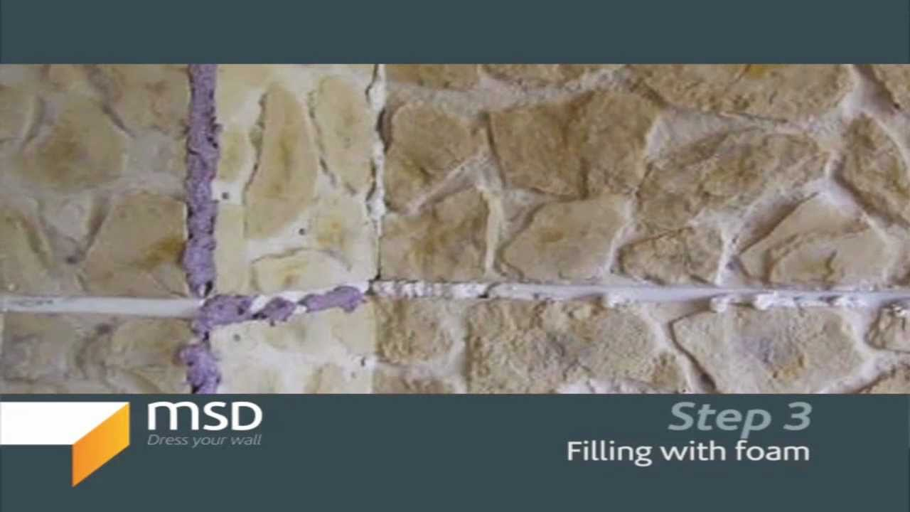 stone interior wall faux msd stone panels wall paneling youtube