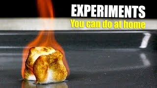 14 Fun Experiments And Tricks