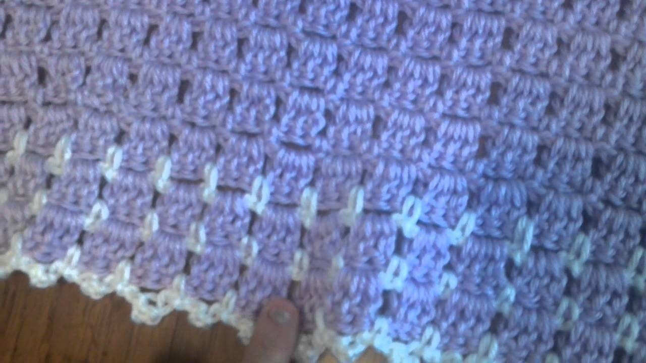 Crochet Baby Blanket Made By Jenn Zamora Youtube