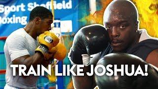 Anthony Joshua Boxing Challenge   Akinfenwa vs Smithy 🥊