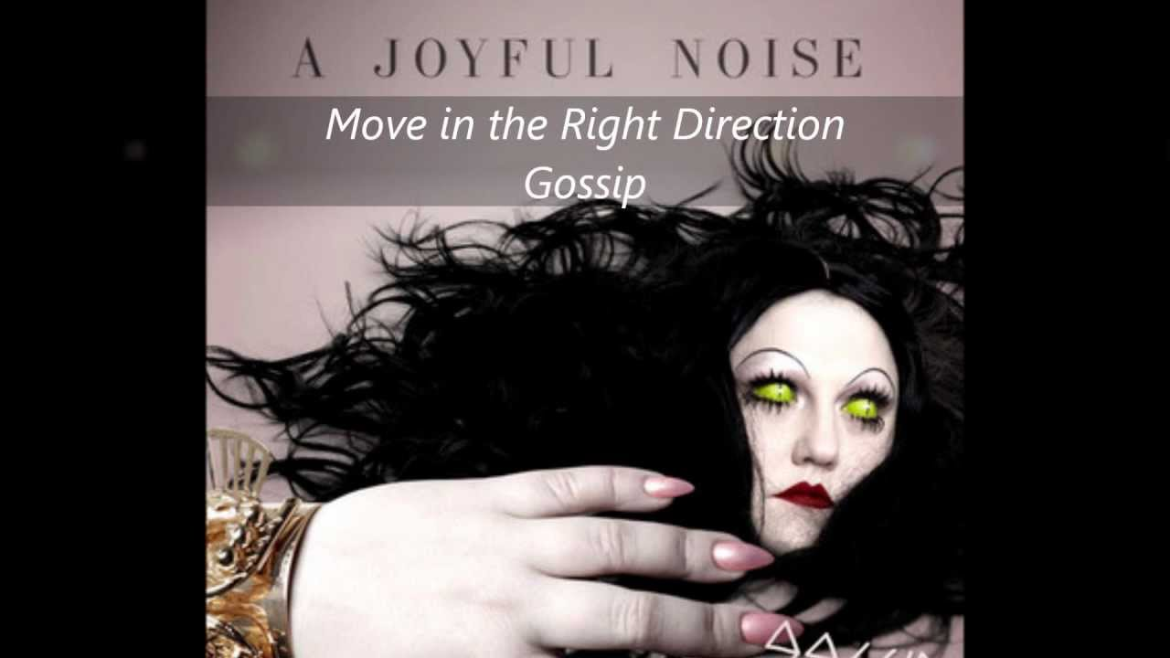 gossip   move in the right direction new album relese