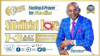 Sacrificial Love Online Summit 2020 || Morning Glory || Day 1|| Potter's City|| 01- 07 -2020