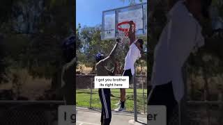 7'5 Giant can fix the net WITHOUT jumping