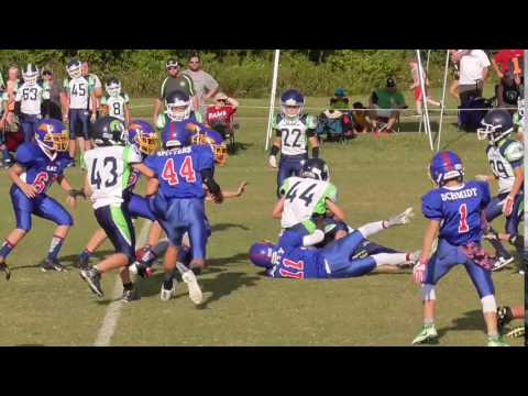 2016 09 03 W3 AA Spring Hill 28 0 091 Griggs kick Putty tackle
