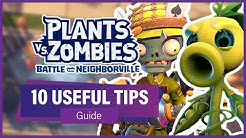 10 USEFUL TIPS FOR BEGINNERS!! (Guide) - Plants vs Zombies: Battle For Neighborville Gameplay