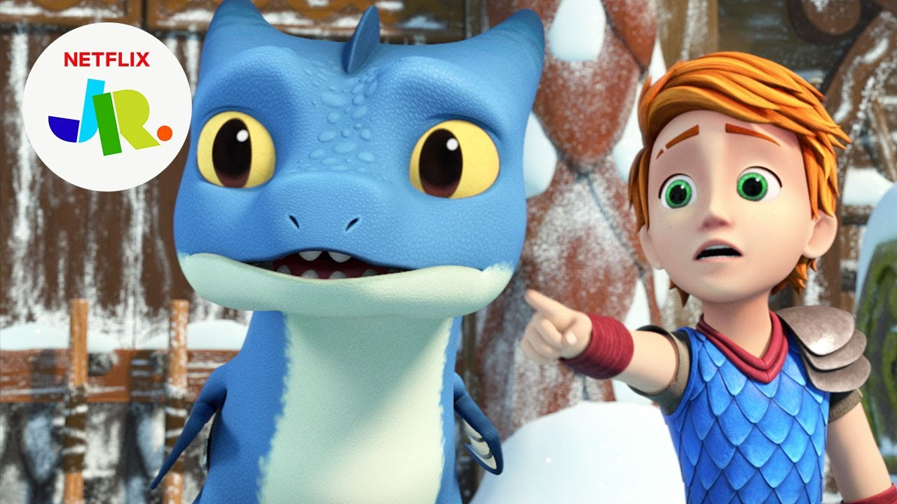 Magnus Machine Meltdown 🥶 Dragons: Rescue Riders: Huttsgalor Holiday | Netflix Jr