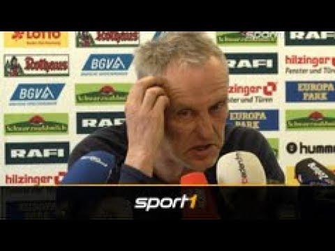 Christian Streich vom SC Freiburg mit Lebensweisheiten auf den Pressekonferenzen   SPORT1