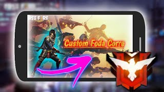 como tirar lag free fire(Nova custom) Fodaaa!!