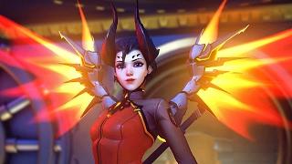 Overwatch: Mercy Demoníaca