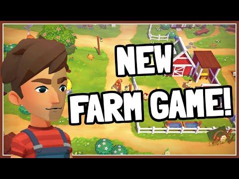 A Brand NEW Story Driven Farm RPG! - Big Farm Story   First Impression