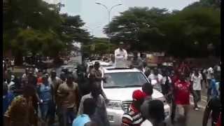 Manifestations du 20 avril 2015 à Conakry: Cellou Dalein prend la direction de Bambeto...