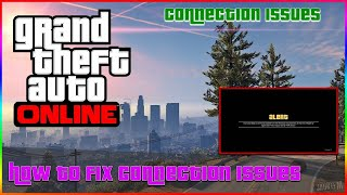 How to fix GTA online network error/timed out location on any console}