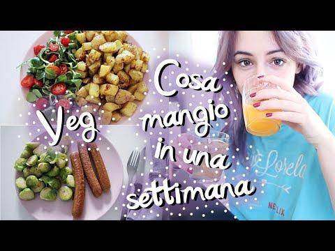 WHAT I EAT IN A WEEK (veg ma non super sana) ✰ Shanti Lives