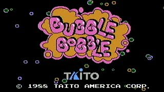 Bubble Bobble - NES Gameplay