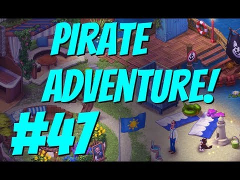 GARDENSCAPES NEW ACRES #47 Gameplay Story Playthrough | Area 9 River Area Day 3 Ending