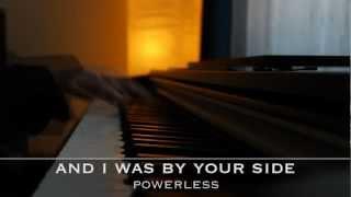 Powerless - Linkin Park - Piano Karaoke