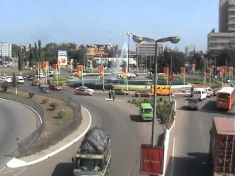 Kwame Nkrumah Circle - Ringroad Accra, Ghana